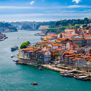 Chemin portugaise sur la côte